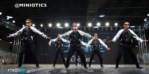 Apresentação de grupo de dança olha só que galera boa no que faz!!!