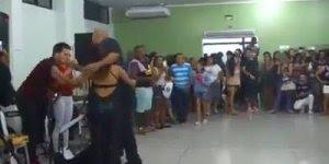 Apresentação de Samba Rock, este casal manda muito bem na dança!!!