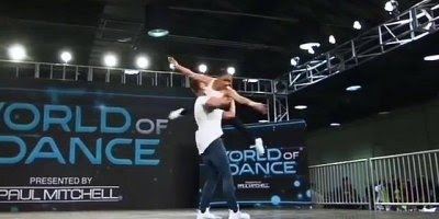 Casal dançando de forma que vai deixar você sem folego, vale a pena conferir!!!