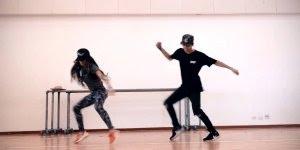 Cassal dançando musica eletrônica, olha só estes dois manjam bem!!!