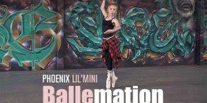 Garota dançando um estilo de balé diferente de tudo que você já viu!!!