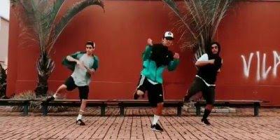 Malandros dançando musica em ritmo dance, muito legal, confira!