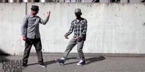 Que apresentação destes caras! Parece efeito de computador, mais é Breakdance!!!