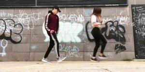 Shuffle uma das formas de dançar musica eletrônica, olha só que legal!!!