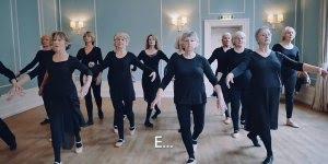 Terceira idade e a dança, algo que é fantástico para saúde física e mental!!!
