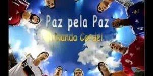 A paz pela paz, vamos fazer campanha a favor da paz no mundo!