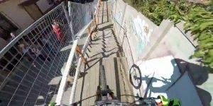 A pista Red Bull Valparaiso é simplesmente insana, veja o video até o final!
