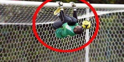 As defesas mais improváveis do futebol, esses coleiros são heróis!