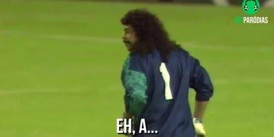 Paródia de futebol, esses goleiros merecem um prêmio, confira!