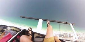 Saltar de um helicóptero, com quem você faria essa loucura?
