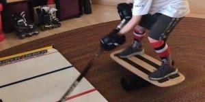 Treinamento de Hóquei no gelo, nesse esporte é preciso muita habilidade!