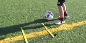 Veja como treinar um belo jogador para o futuro, treinamento perfeito!