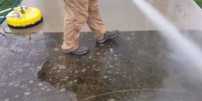 Aparelho para lavar chão, olha só que impressionante como limpa bem!!!