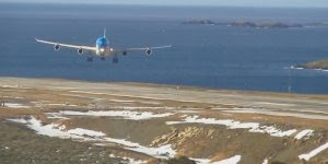 Aterrizagem dificil do avião A340 Argentine Airlines, confira!!!