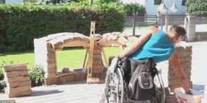Cadeirante faz trabalho incrível, quando quer nada é desculpa!