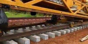 Como é construída uma linha férrea, um video bem interessante!