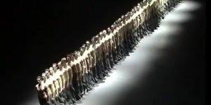 Impressionante apresentação de bailarinos, olha só que legal!!!
