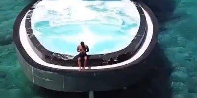 Impressionante hotel a beira mar, veja esta piscina maravilhosa!!!