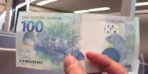 Impressionante nota de 100 reais falsa, fique experto, e compartilhe com amigos!