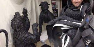 Impressionante obras de arte feitas com pinel, olha só que fantástico!!!