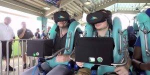 Montanha Russa com realidade virtual, agora ficou sério isso...