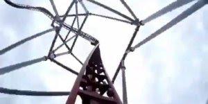 Montanha russa impressionante, confira este vídeo em primeira pessoa!!!