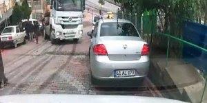 Veja o perigo de andar atras de um caminhão em uma subida, impressionante!!!