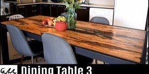Vídeo com mesa de madeira impressionante sendo fabricada, confira!!!