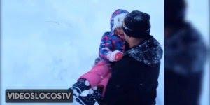 Vídeo com papais sendo Heroes de seus pequenos, olha só que precisão!!!