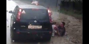Vídeo impressionante de acidentes que poderiam ser fatais!!!
