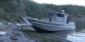 Barco sai da água apenas com a ajuda da tecnologia, confira!