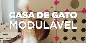 Como fazer uma casa de Gato modulável, seu gato vai amar!!!