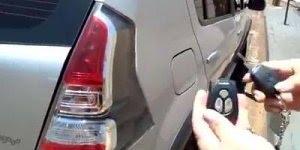 Como os ladrões estão fazendo para roubar a parte interna dos carros, atenção!