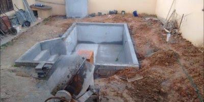 Construção de uma piscina de vinil, menor custo e benefícios!