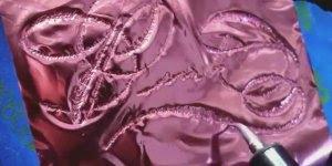 Papel carbono rosa metálico, olha só que lindo para escrever em convites!!!
