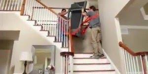 Solução interessante para carregar móveis pesados, simples e objetiva!