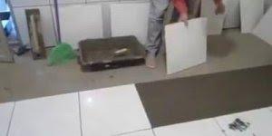 Técnica de assentamento de piso que facilita a vida do profissional da área!!!