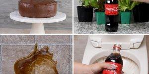 Utilidades para fazer com o refrigerante de cola, algumas irão te surpreender!