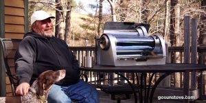 Vídeo mostrando grill que funciona com energia solar, uma ideia interessante!!!