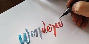 Coisas legais de ver, tem caligrafias incríveis e desenhos!