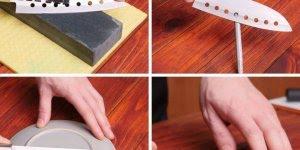Dicas legais para aprender a amolar uma faca, chega de faca cega na sua casa!