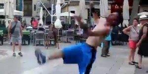 esse vídeo é fera! Veja só como este cara é ninja, fiquei tonta só de ver!!!