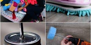 Ideias legais que irão te ajudar nos afazeres de limpeza de casa!