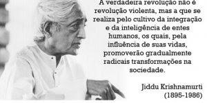 Jiddu Krishnamurti falando sobre o condicionamento psicologismo que vivemos!!!