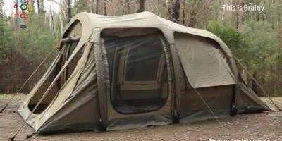 Melhor barraca para acampar, com ela você vai dormir até no quintal!