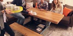 Mesas que se adaptam as nossas necessidades, uma ideia genial!