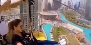 Tirolesa em Dubai, a verdadeira tirolesa da ostentação, confira!