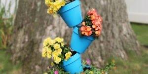 Tutorial de alimentador de pássaros lindinho para fazer em seu jardim!!!