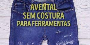 Uma ótima ideia para fazer com a quela calça jeans velha, confira!!!