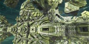 Viagem no centro de um fractal híbrido, muito bom para relaxar!